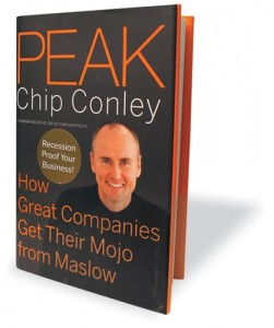 Peak by Chip Conley book cover