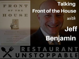 A Discussion with Jeff Benjamin on his BookFront of the house