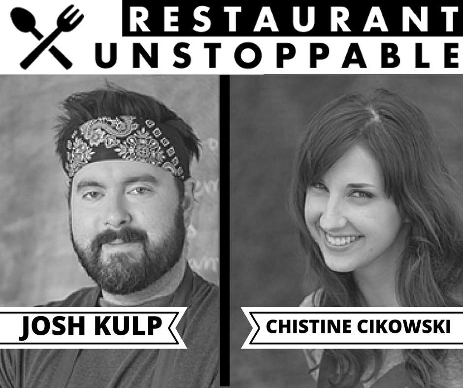327: Turning a dinner club into a successful restaurant with Joshua Kulp and Christine Cikowski