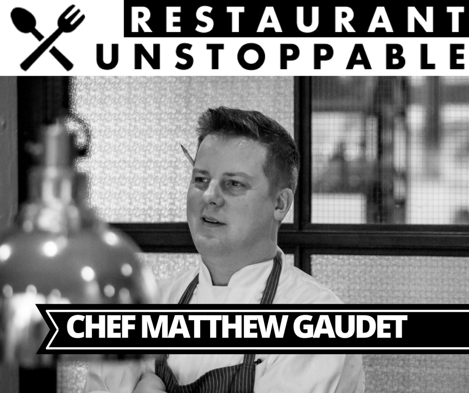 332: The process of finding who and what you are with Chef Gaudet