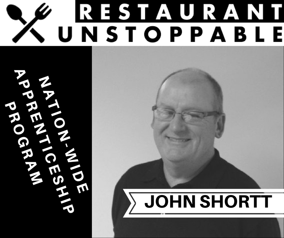 374: Apprenticeships in hospitality making a comeback with John Shortt