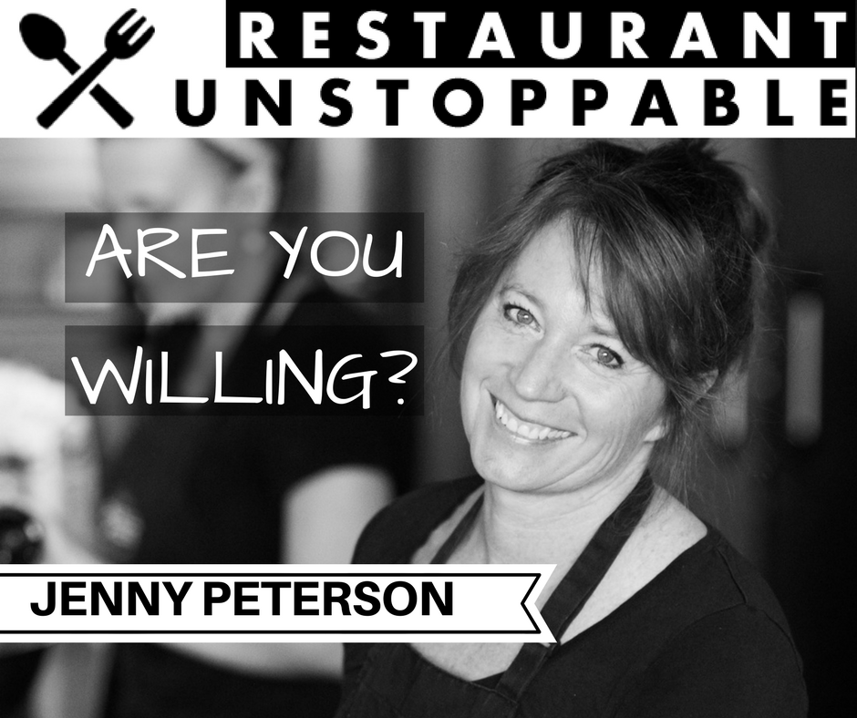 379: Strategic risk taking with Jenny Peterson