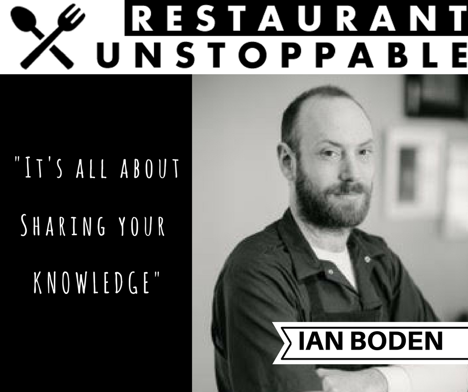 380: It's about sharing knowledge with Ian Boden