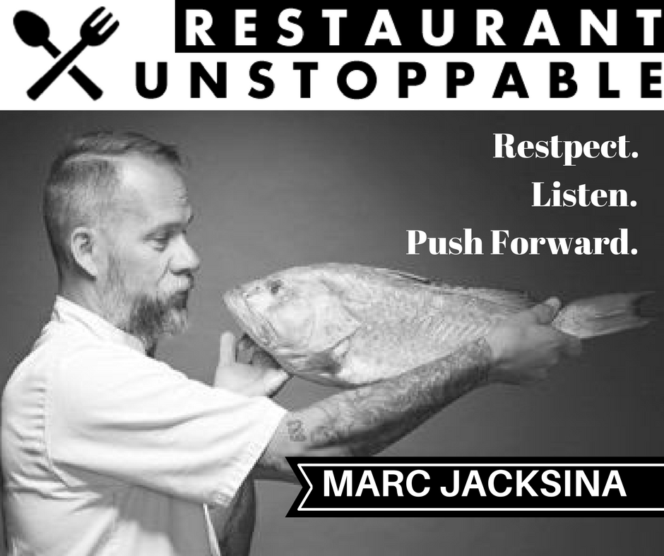 388: Respect, listen, and push forward with Marc Jacksina