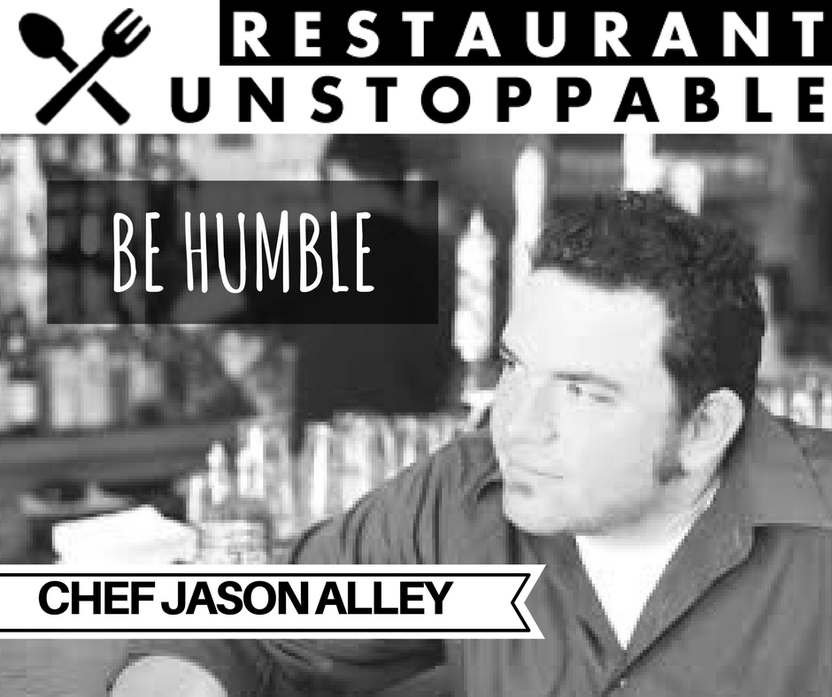 400: Staying Humble with Chef Jason Alley