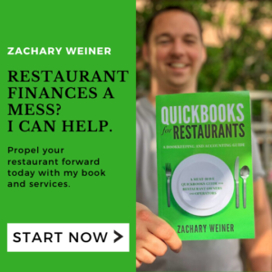 Zachary Weiner Quickbooks for Restaurants Ad