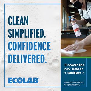 Ecolab S&S Clean Simplifed Ad 300x300