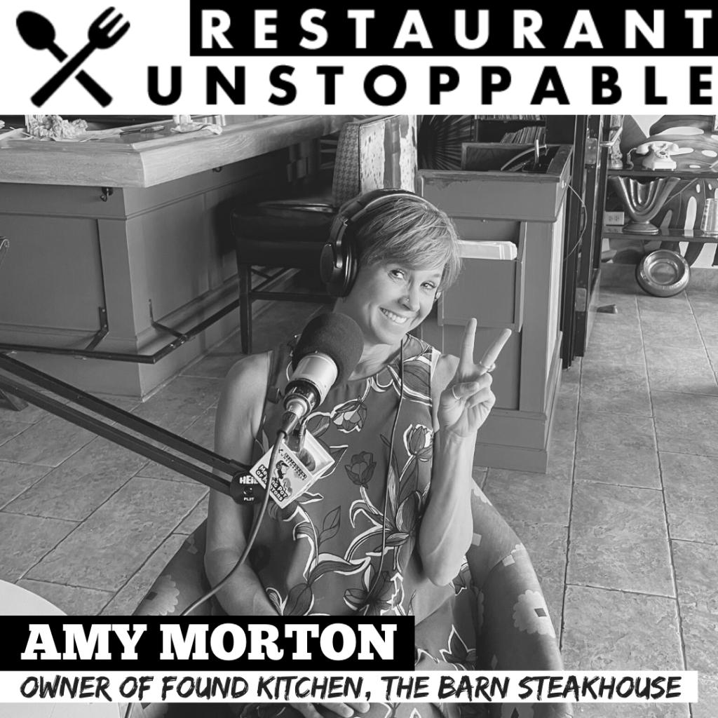 Amy Morton Restaurant Unstoppable Podcast