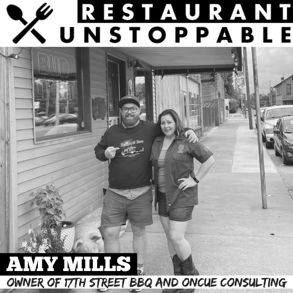 Amy Mills Restaurant Unstoppable Podcast