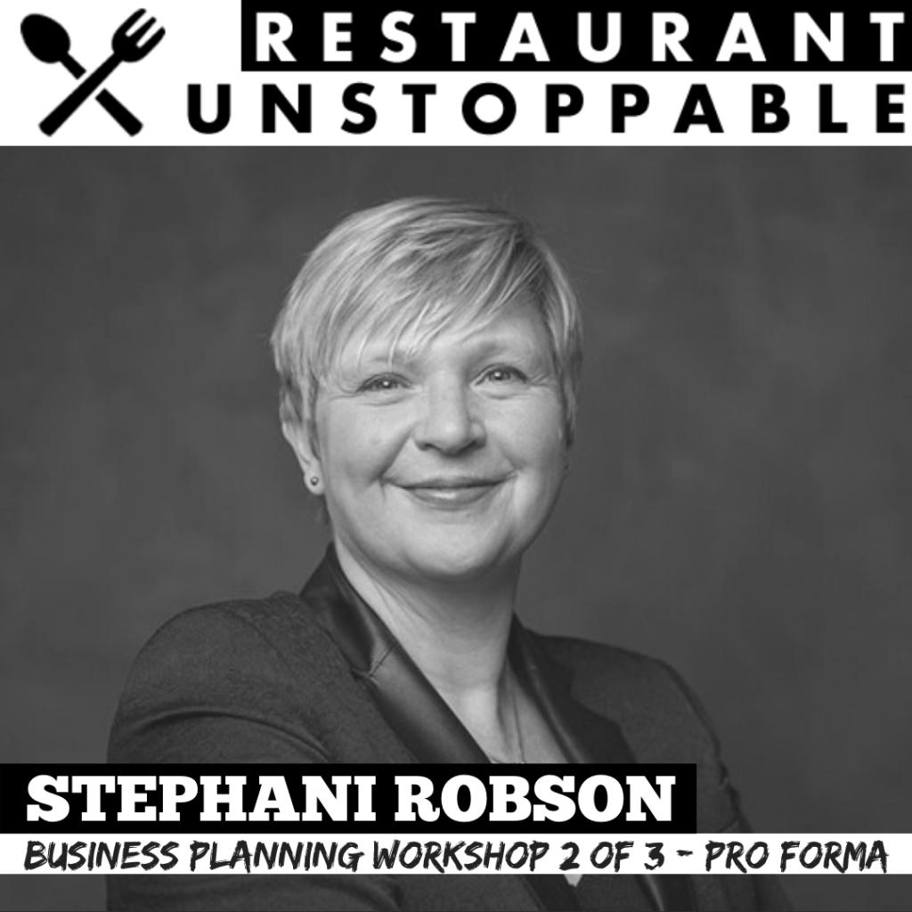 Stephani Robson Restaurant Unstoppable Podcast part 2
